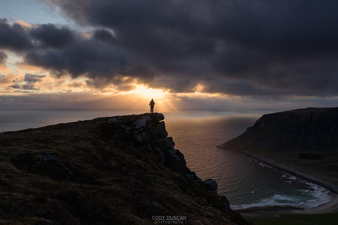 Midnight Sun, Lofoten Islands, norway