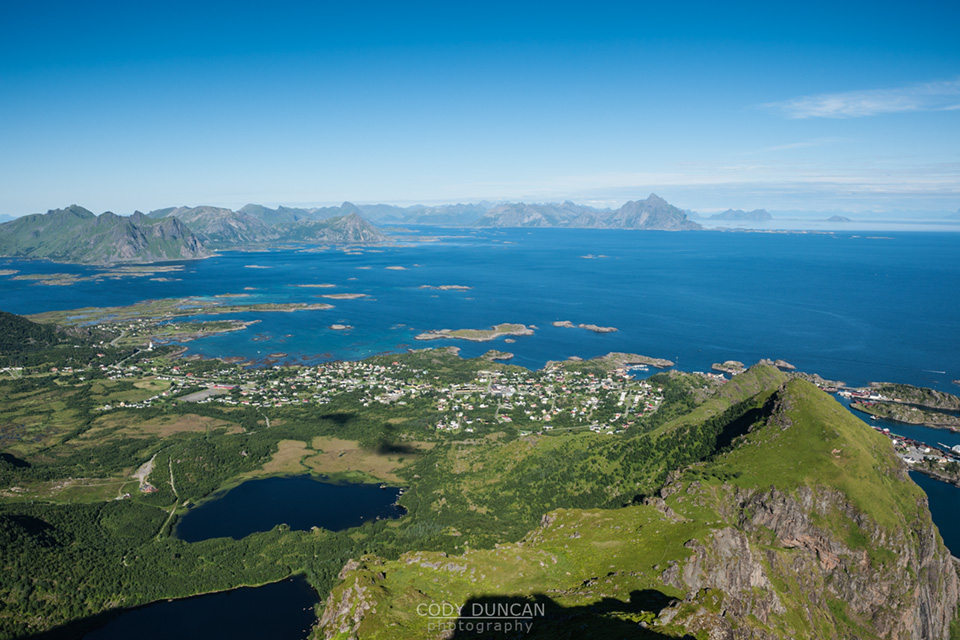 steinstinden lofoten islands mountain hiking