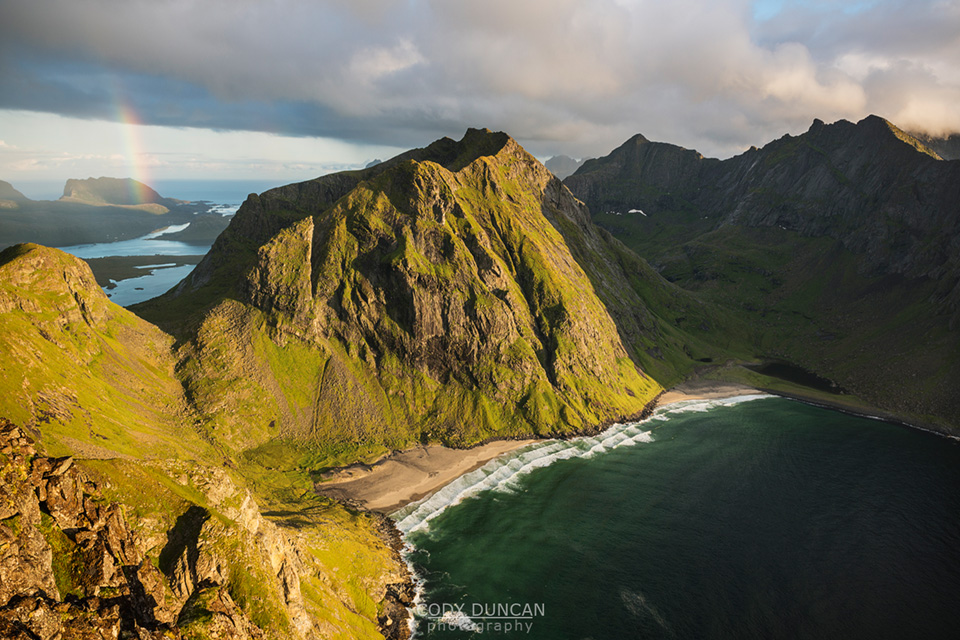 Kvalvika Beach, Lofoten Islands, Norway