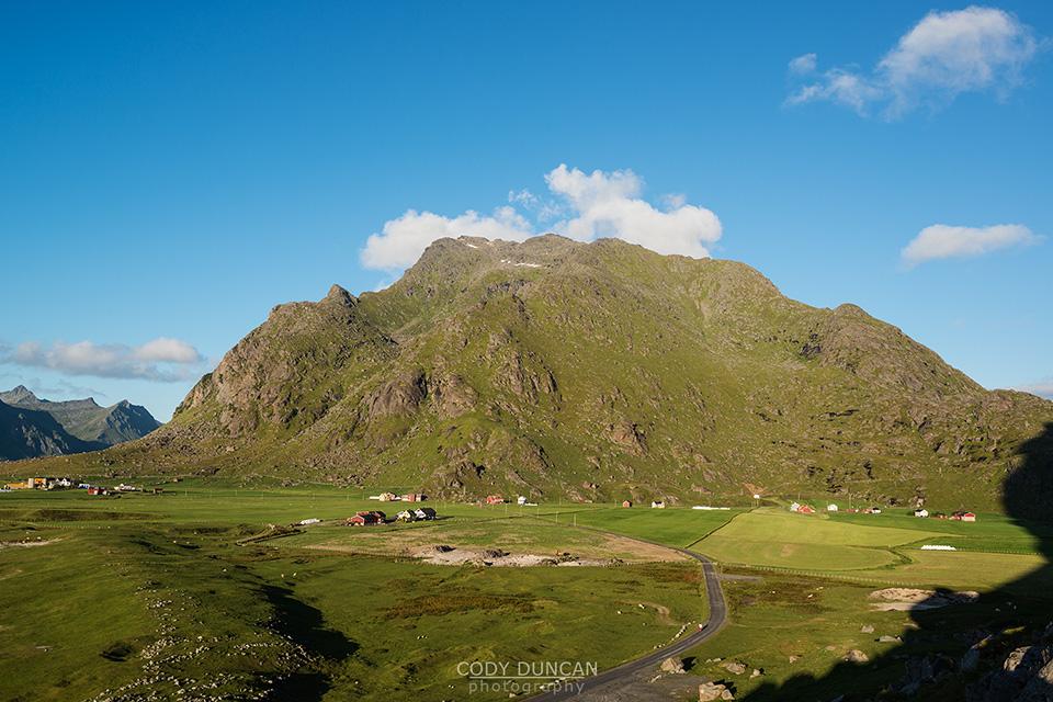 Himmeltindan, Lofoten Islands, Norway