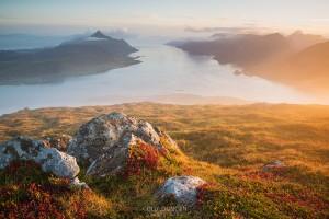 Offersoykammen lofoten islands hiking