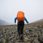 Hiking Kungsleden trail