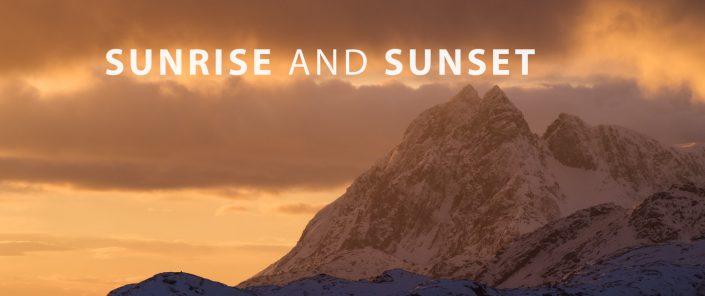 Lofoten Travel - Sunrise and Sunset