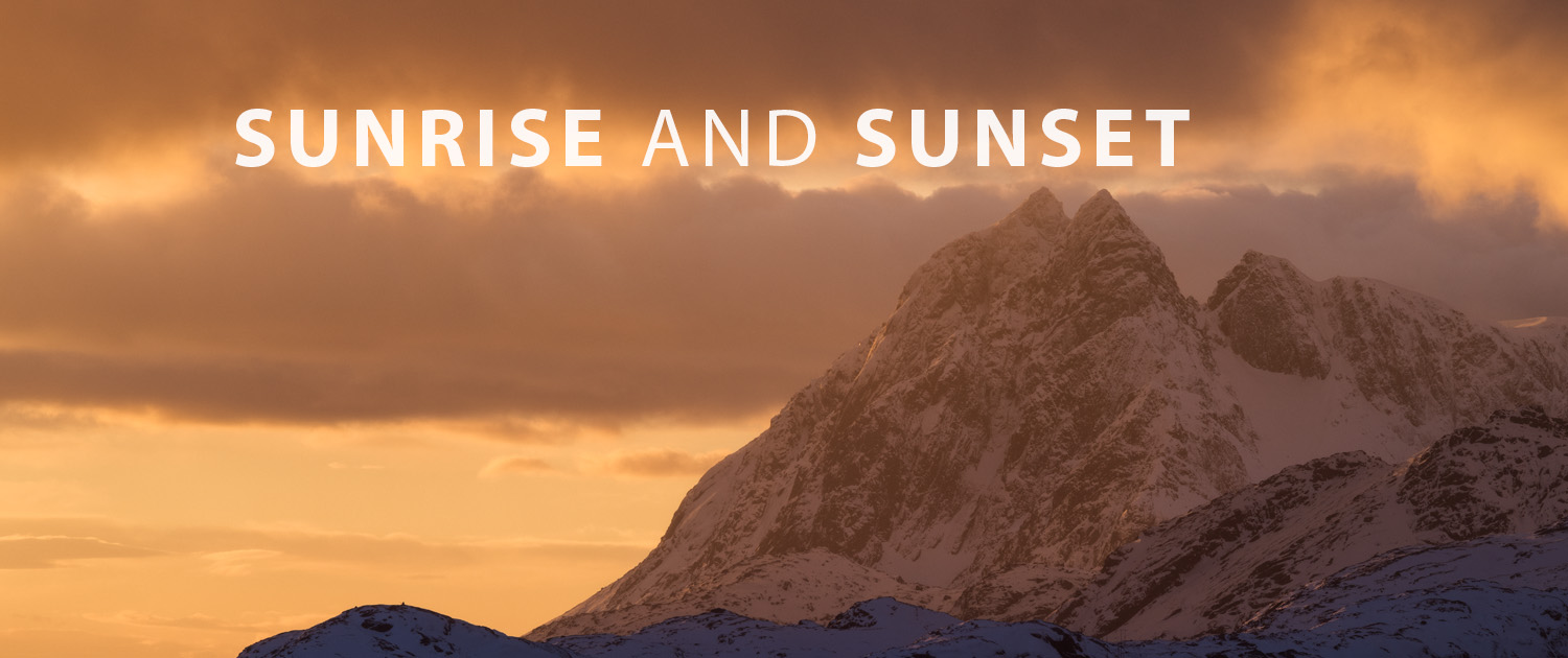 Lofoten Travel - Sunrise and Sunset & Lofoten Islands Sunrise and Sunset Time and Location Info | 68 North