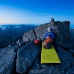 Lofoten Islands Norway Hermannsdalstinden camping