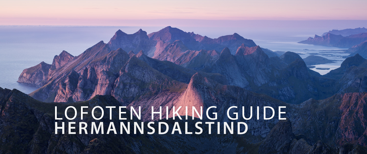Hermannsdalstind mountain hiking guide