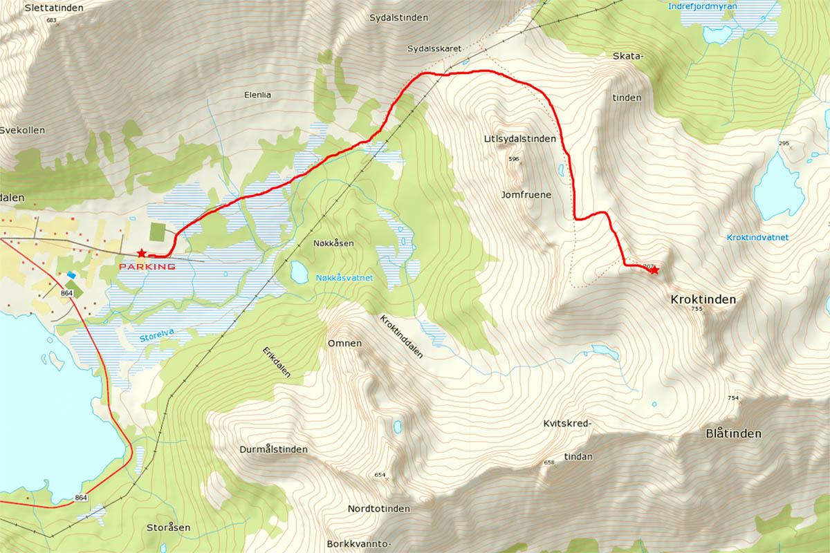 kroktinden-map