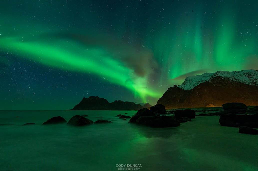 Lofoten Islands Northern Lights | February 2014 Winter ...
