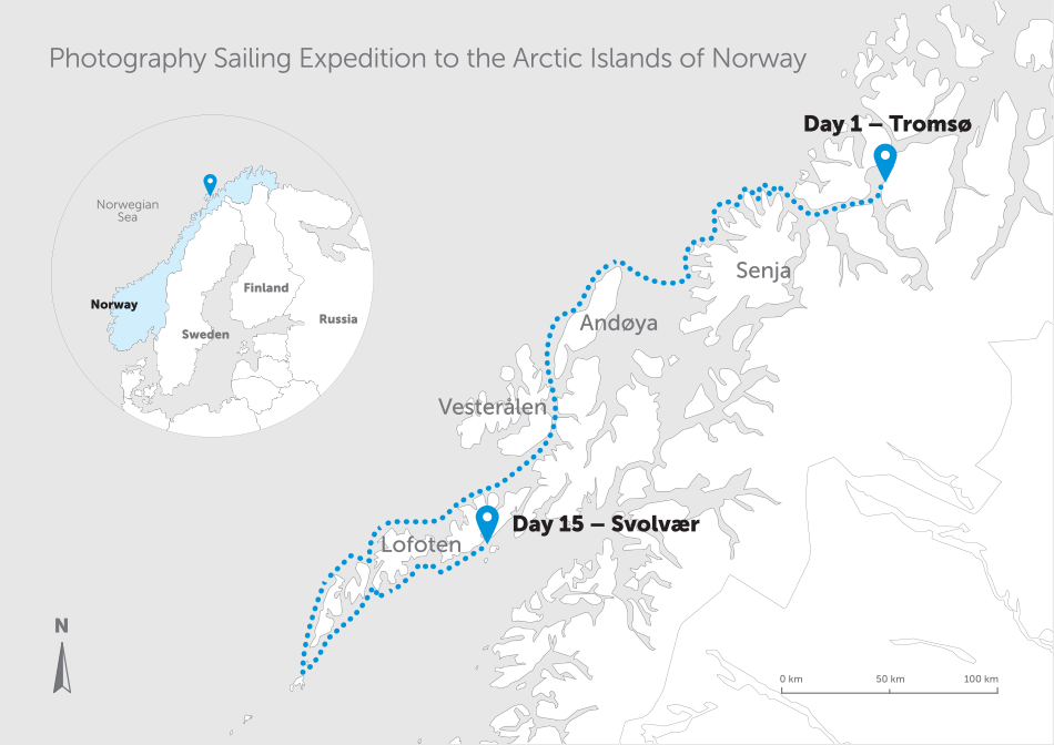 Lofoten sailing expedition 2014