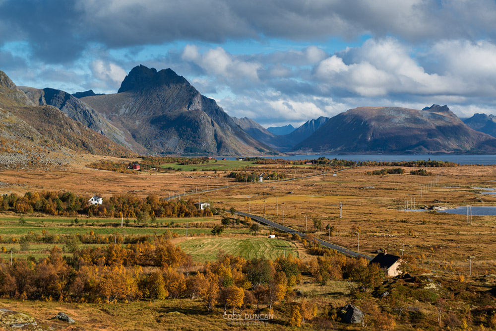 Vikjorden, Lofoten Islands Autumn