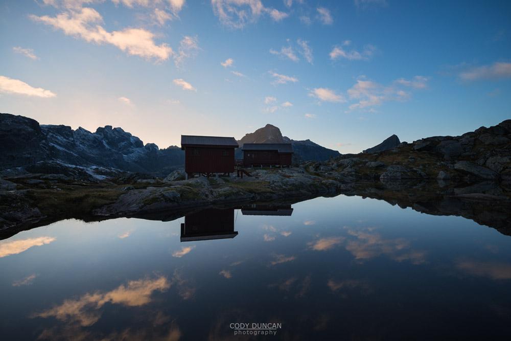Hiking Munken Lofoten Islands Norway