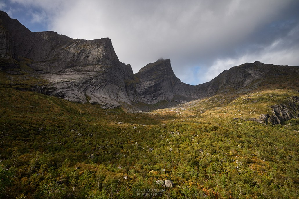 Hiking Markan, Lofoten Islands, Norway