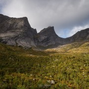 Hiking Markan, Lofoten Islands, Norway