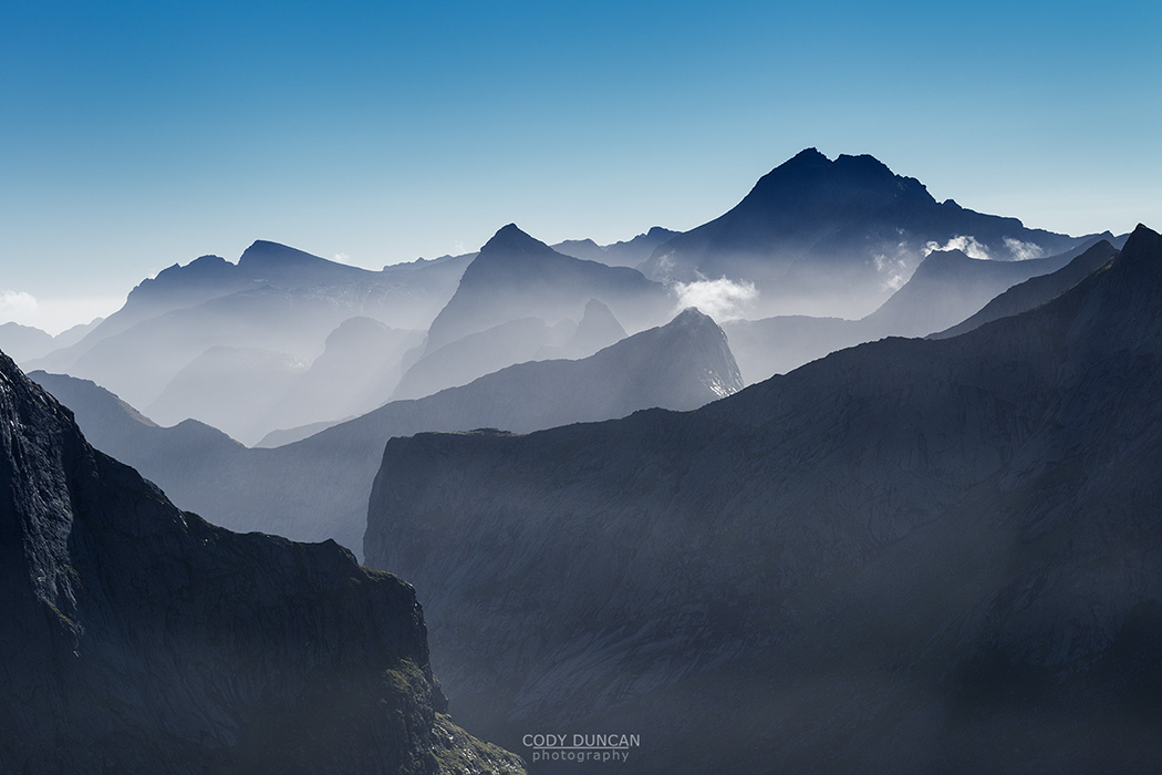 Lofoten Mountain landscape