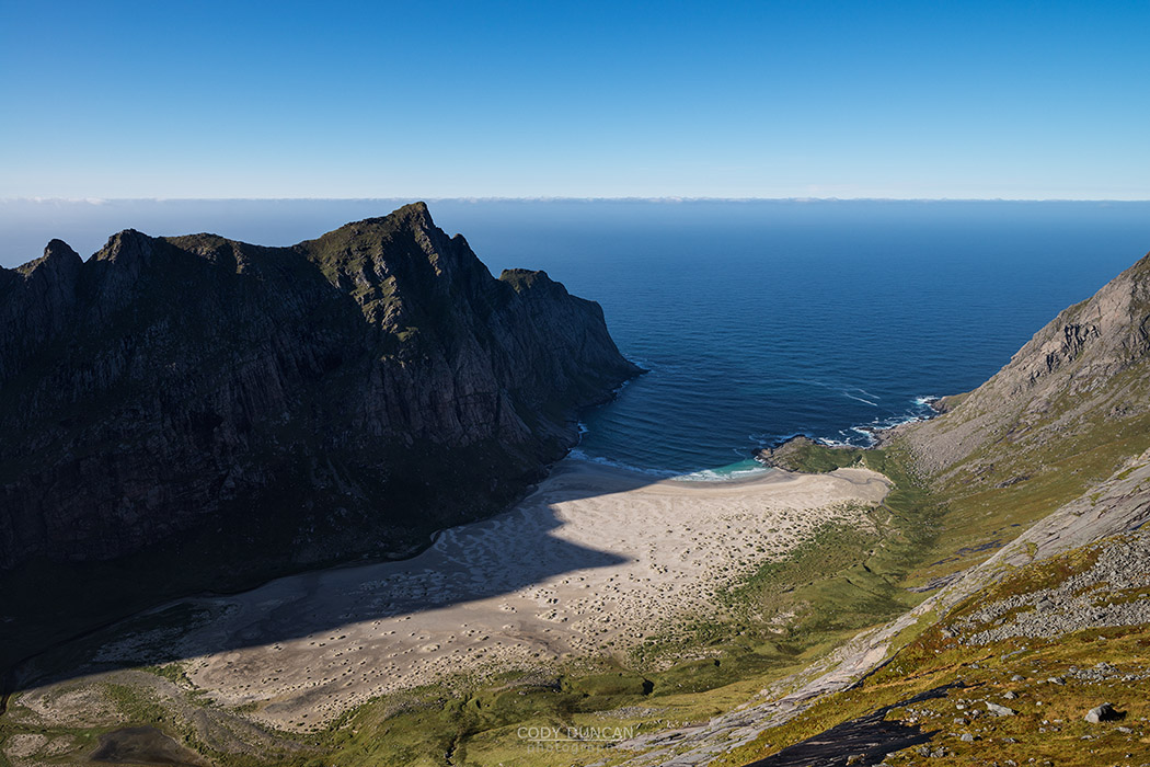 Horseid beach, Lofoten Islands, Norway