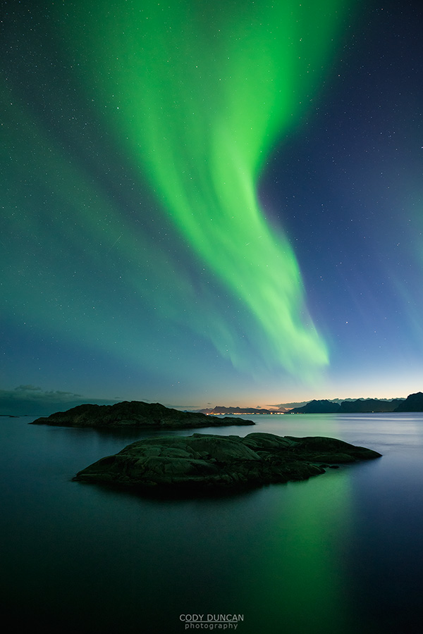 Northern Lights Lofoten Islands, Norway
