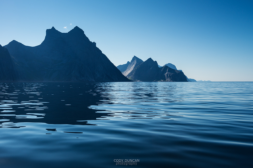 Lofoten Islands Sailing