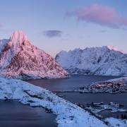 Reine In winter, Lofoten Islands, Norway