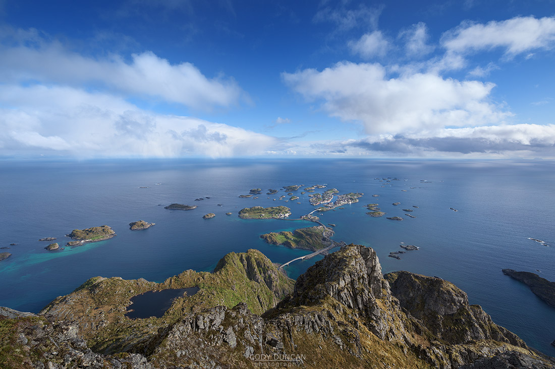 festvagtinden, lofoten islands, Norway