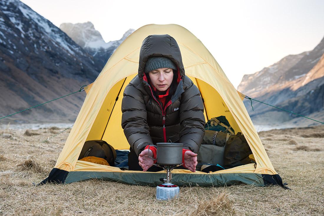 Lofoten Winter Hiking Clothing