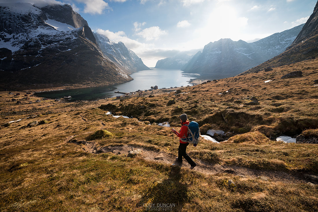 Hiking Lofoten Islands Norway