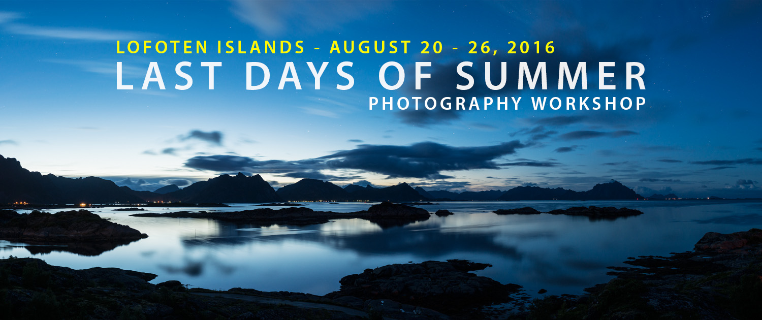 Lofoten Photo Workshop - Last Days of Summer 2016