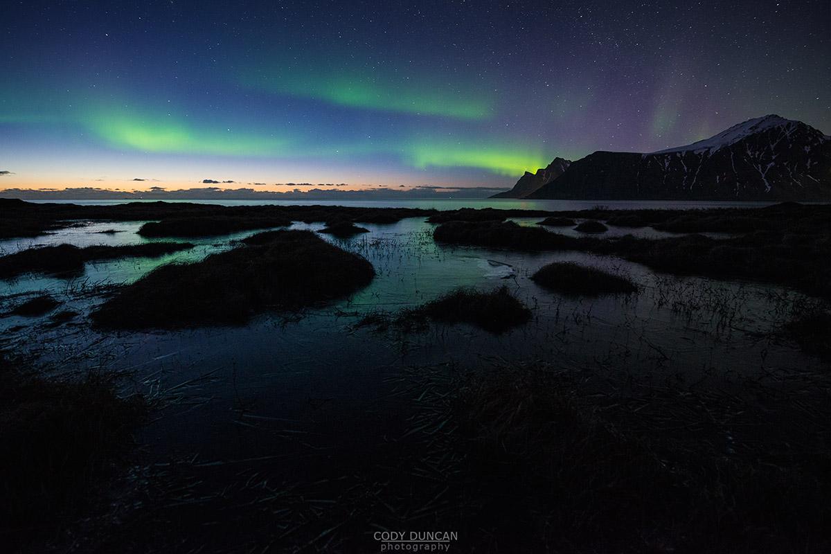April Northern Lights - Lofoten Islands