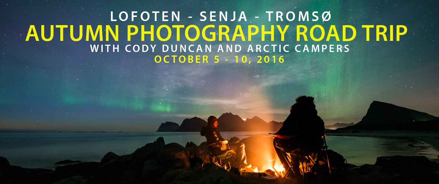 Lofoten Senja Road Trip October 2017