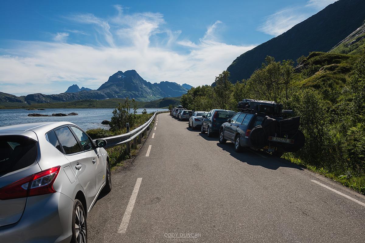 Friday Photo 187 - Kvalvika Parking