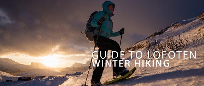 Winter Hiking - Lofoten Islands