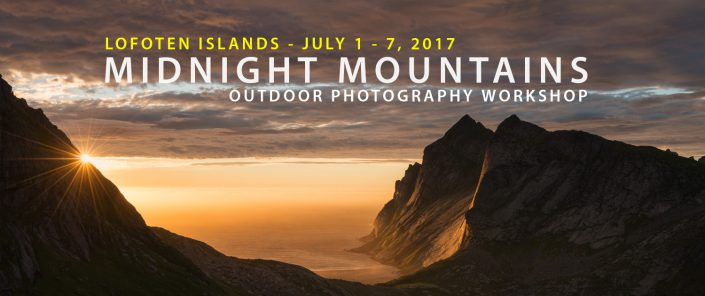 Lofoten Photo Tour - Midnight Mountains - July 2017