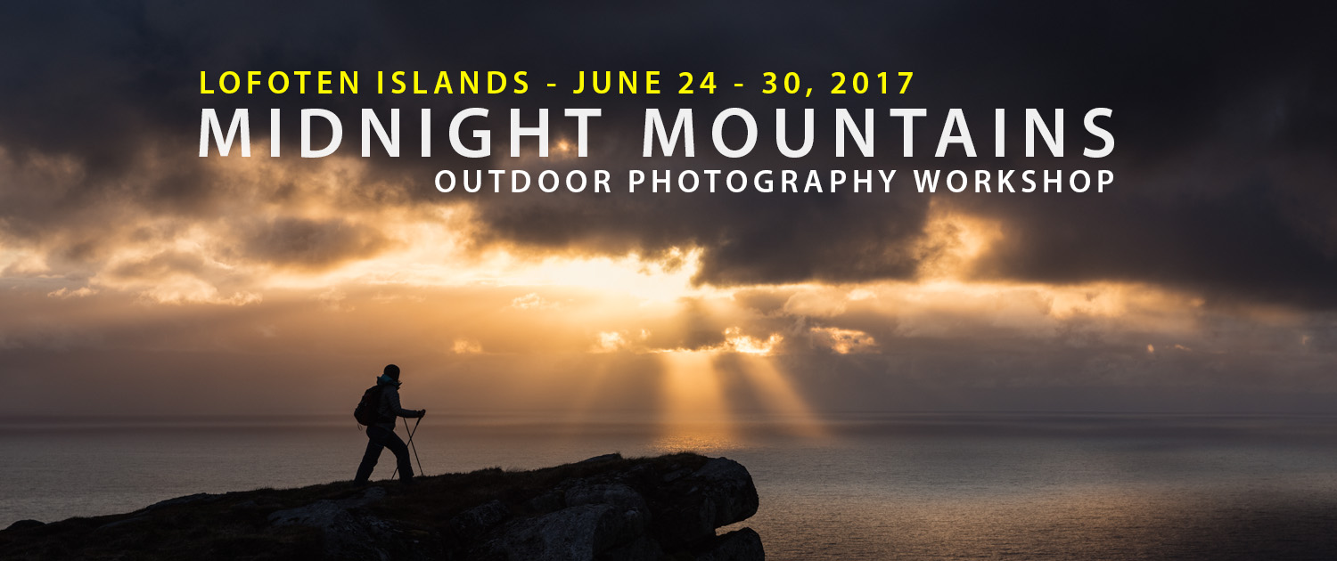 2017 Lofoten Islands Photo Tour - Midnight Mountains