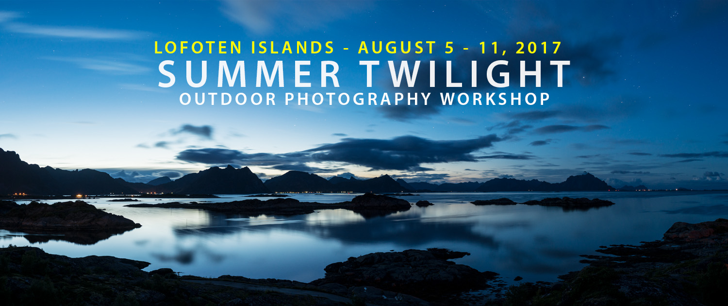 Summer Twilight - Lofoten Photo Tour - August 2017