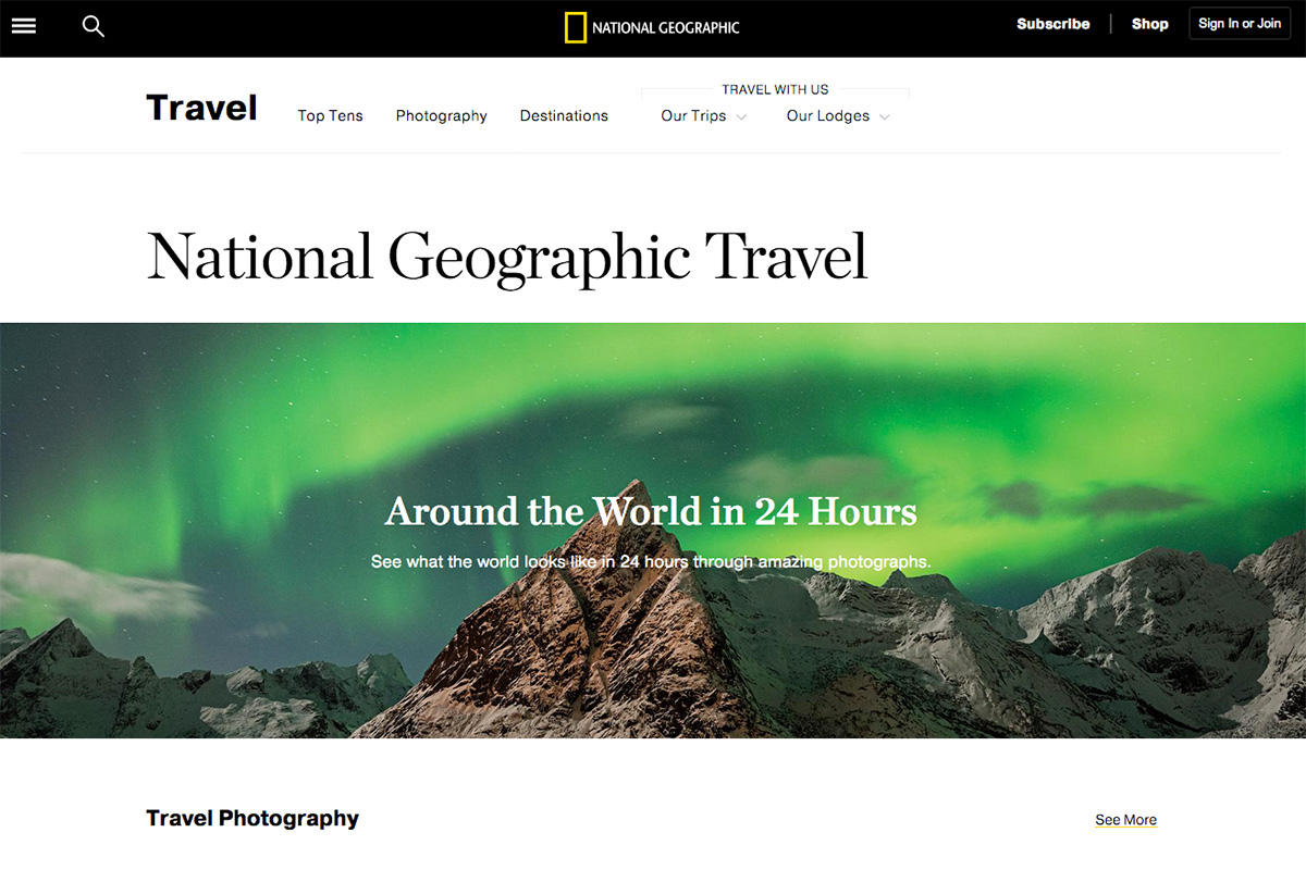 Aurora Over Olstind - National Geographic Traveler