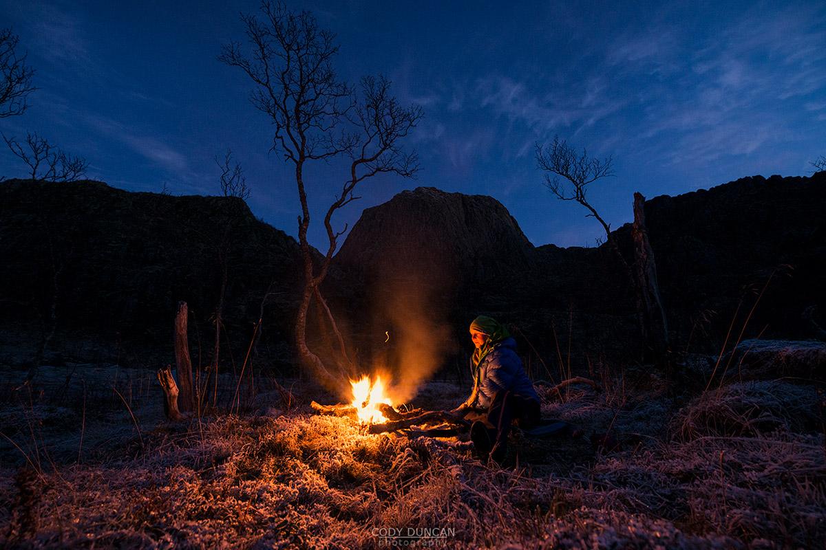 Friday Photo #200 - Winter Camfire