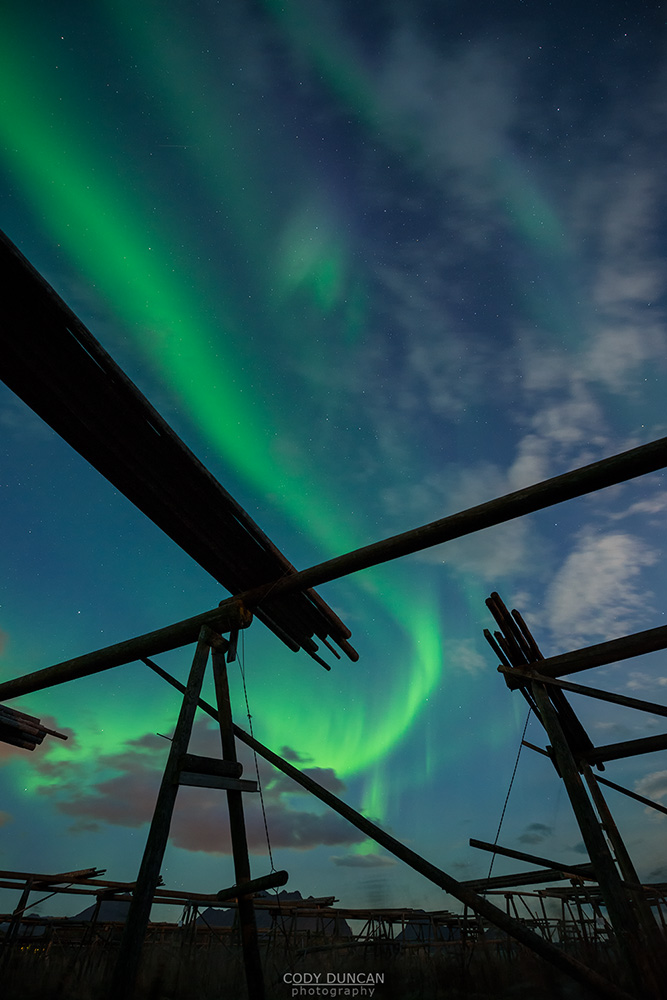 Friday Photo #201 - Ballstad Northern Lights