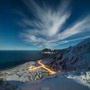 Friday Photo #207 - Uttakleiv Moonlight