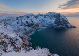 Friday Photo #208 - Kvalvika Winter