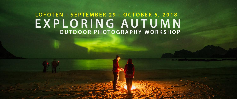 Lofoten Photo Tour - Exploring Autumn 2018