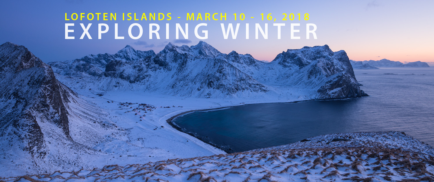 Lofoten Photo Tour - Exploring Winter 2018