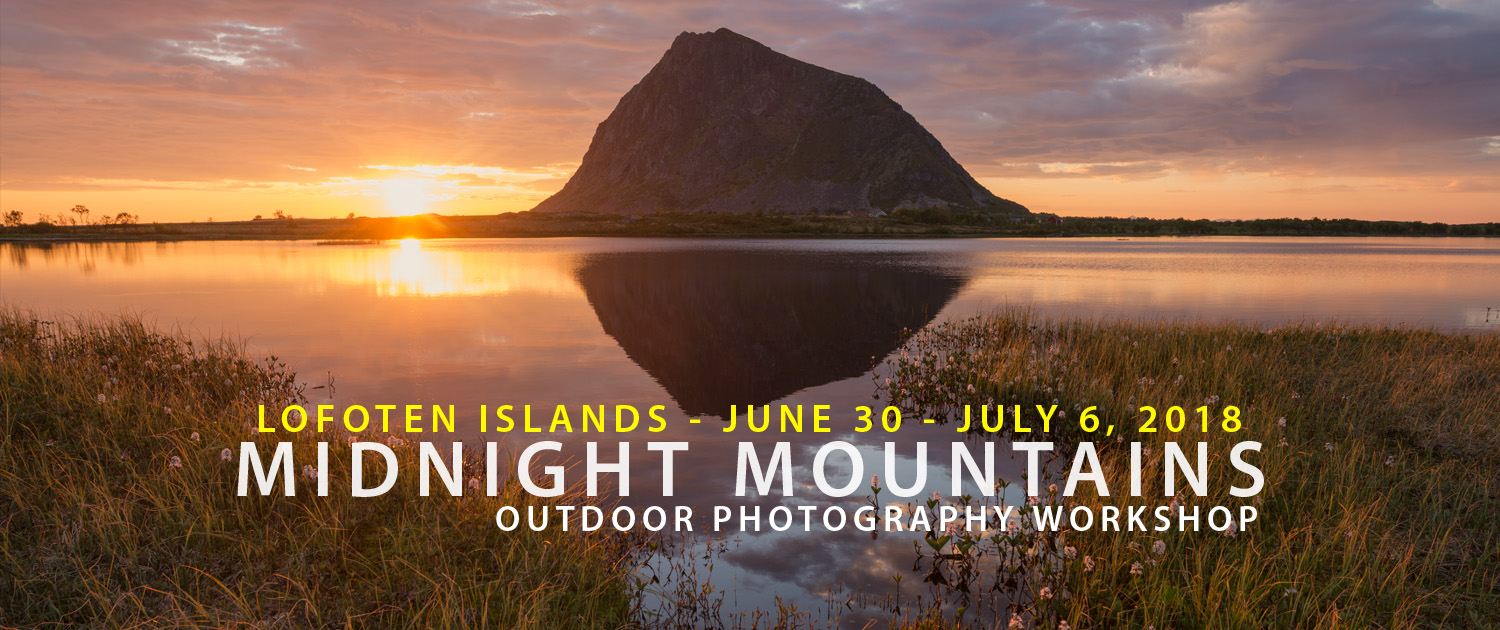 2018 Midnight Mountains - Lofoten Photography Tour
