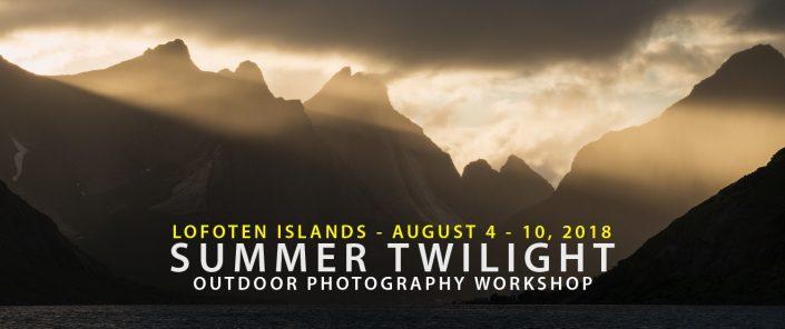 Lofoten Photo Tour - Summer Twilight 2018
