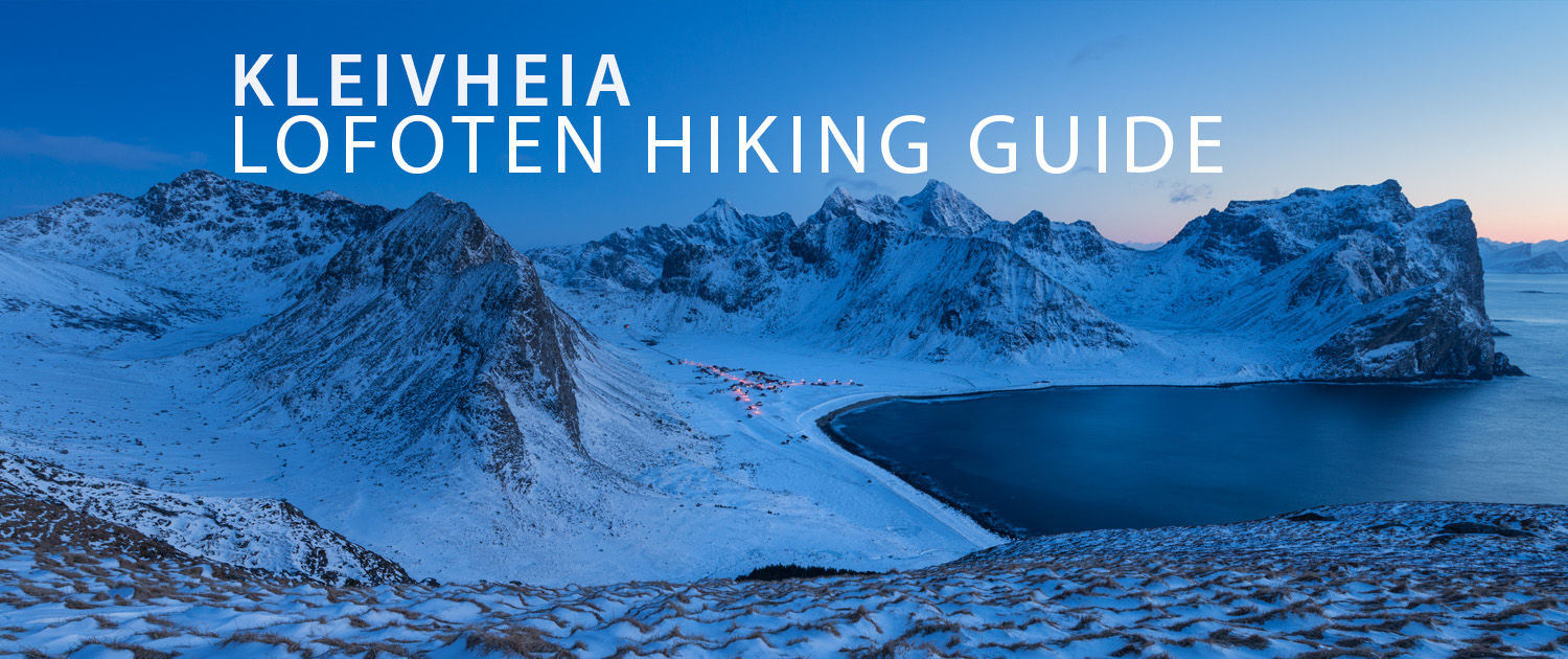 Kleivheia mountain hiking guide