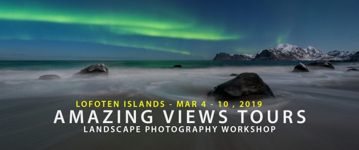 Lofoten Photo Tour - Amazing Views Tours Winter 2019