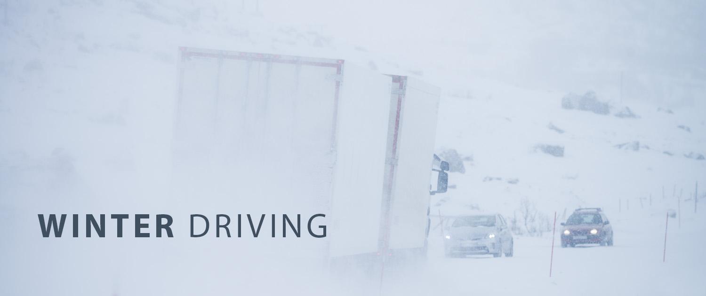 Winter Driving - Lofoten Islands Norway