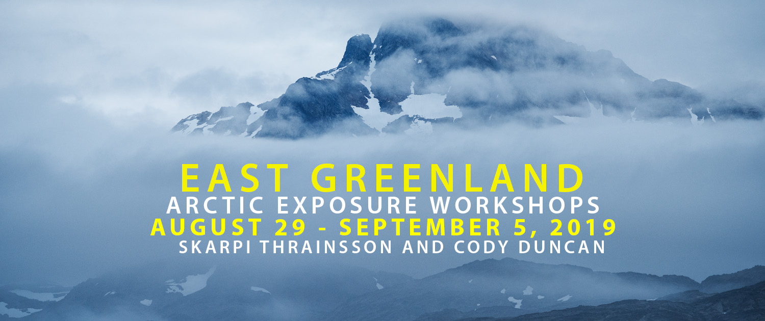 Greenland Photo Tour - Acrtic Exposure - August 2019