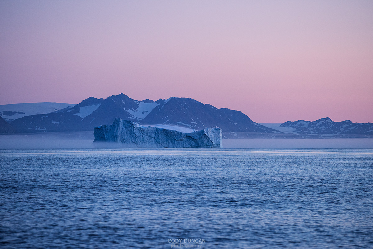 East Greenland Photography Workshop August 2019 68 North