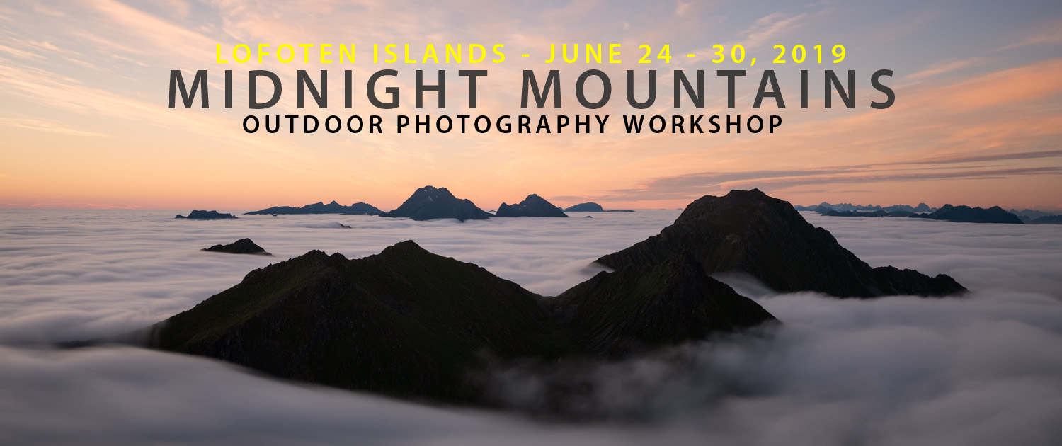 2019 Midnight Mountains - Lofoten Photography Tour