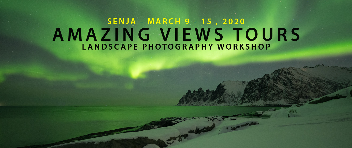 Senja Photo Tour - Amazing Views Tours Winter 2020