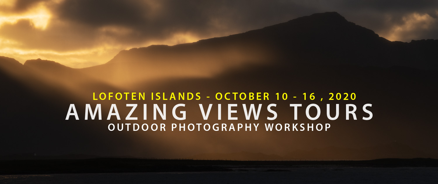 Lofoten Photo Tour - Amazing Views Tours Autumn 2020